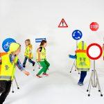 آموزش فرهنگ ترافیک و ایمنی حمل و نقل به کودکان