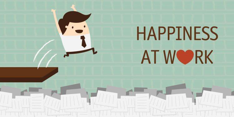 شادمانی در محیط کار