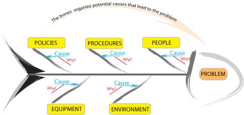 نمودار علت و معلولی : یکی از ابزارهای هفت گانه کنترل کیفیت