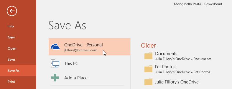 معرفی OneDrive:آموزش کاربردی و فارسی PowerPoint 2016 (درس دوم)
