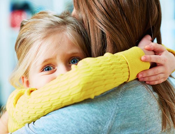انواع هراس ها در سنین مختلف کودکی
