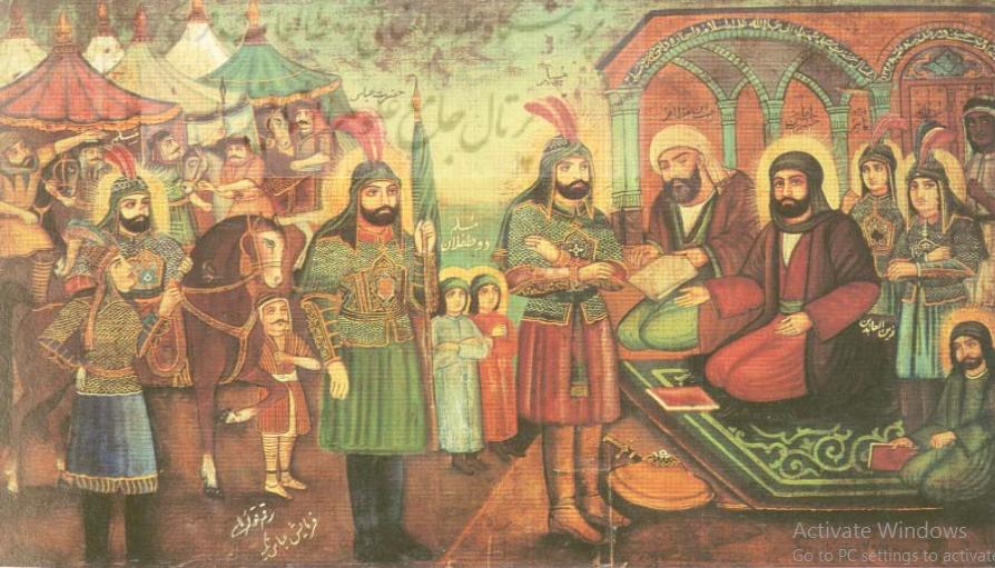 واقعه عاشورا و حضور آن در نقاشی های مذهبی دوران قاجاریه